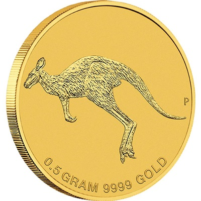 2015 Australia Mini Roo 0.5g Gold Coin